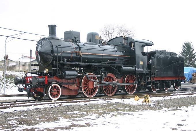 Locomotiva a Vapore Gr 625 Unità 177
