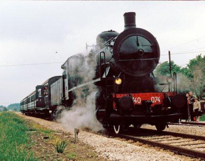 Locomotiva a Vapore Gr 740 Unità 074