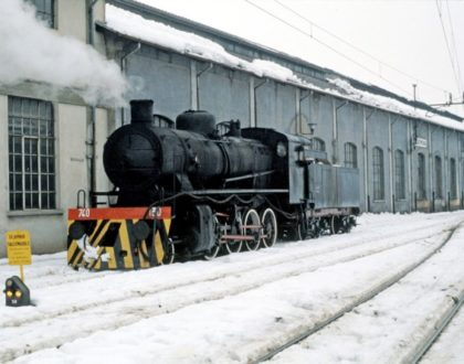 Locomotiva a Vapore Gr 740 Unità 130