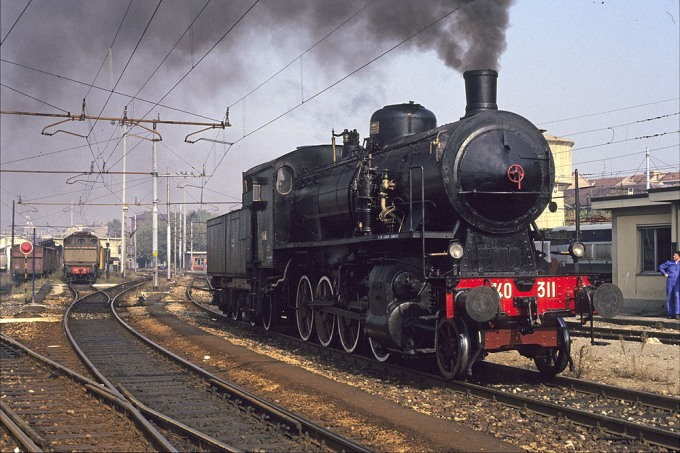 Locomotiva a Vapore Gr 740 Unità 311
