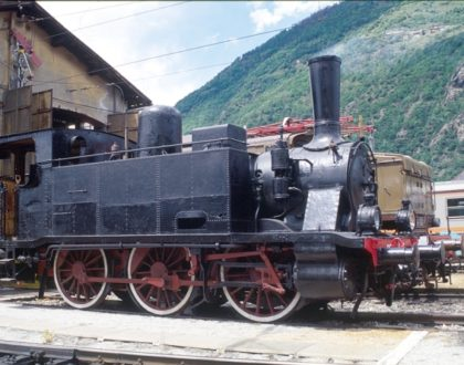 Locomotiva a Vapore Gr 851 Unità 057