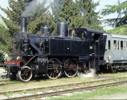 Locomotiva a Vapore Gr 880 Unità 051