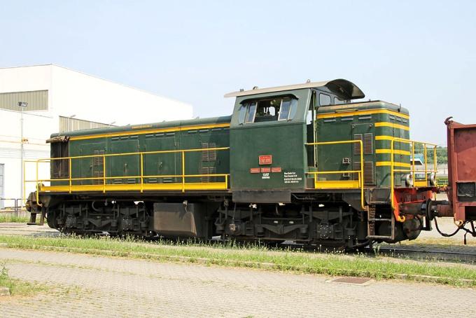 Locomotiva Diesel Gruppo 141 Unità 1011