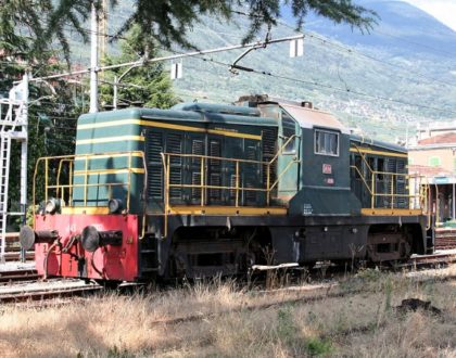 Locomotiva Diesel Gruppo 143 Unità 3002