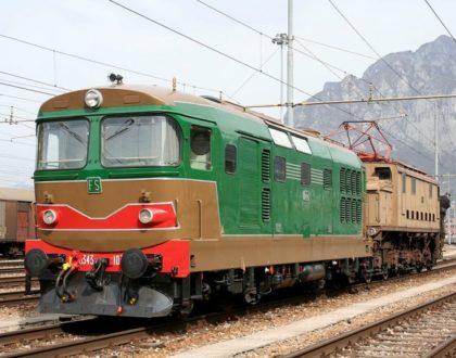 Locomotiva Diesel Gruppo D 343 Unità 1030