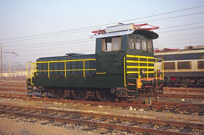 Locomotiva Elettrica Gruppo E.321 Unità 003