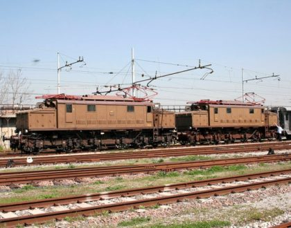 Locomotiva Elettrica Gruppo E.626 Unità 443