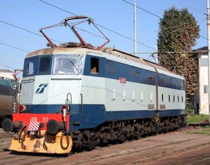 Locomotiva Elettrica Gruppo E.636 Unità 117