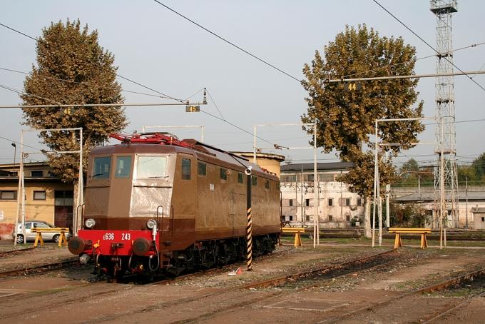 Locomotiva Elettrica Gruppo E.636 Unità 243