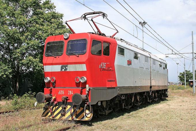 """Locomotiva Elettrica Gruppo E.636 Unità 284 """"Camilla"""""""