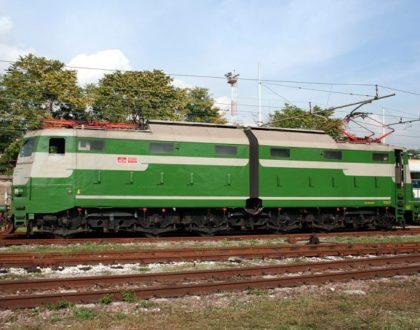 Locomotiva Elettrica Gruppo E.645 Unità 104