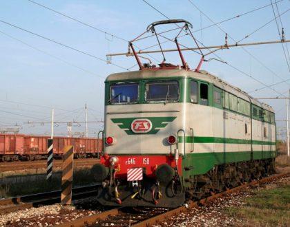 Locomotiva Elettrica Gruppo E.646 Unità 158