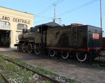 Lavaggio esterno locomotiva Gr 625.177