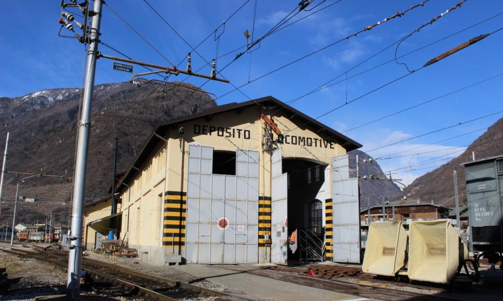 10 Febbraio - Visita guidata alla Rimessa Locomotive di Tirano