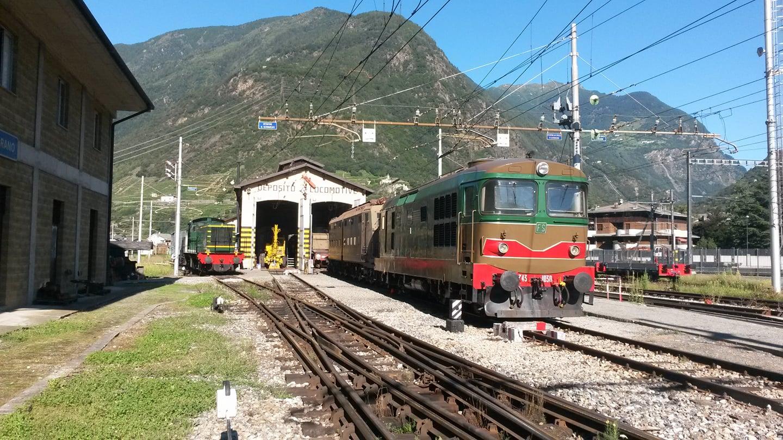 11 Febbraio - Porte Aperte alla Storica Rimessa Locomotive di Tirano