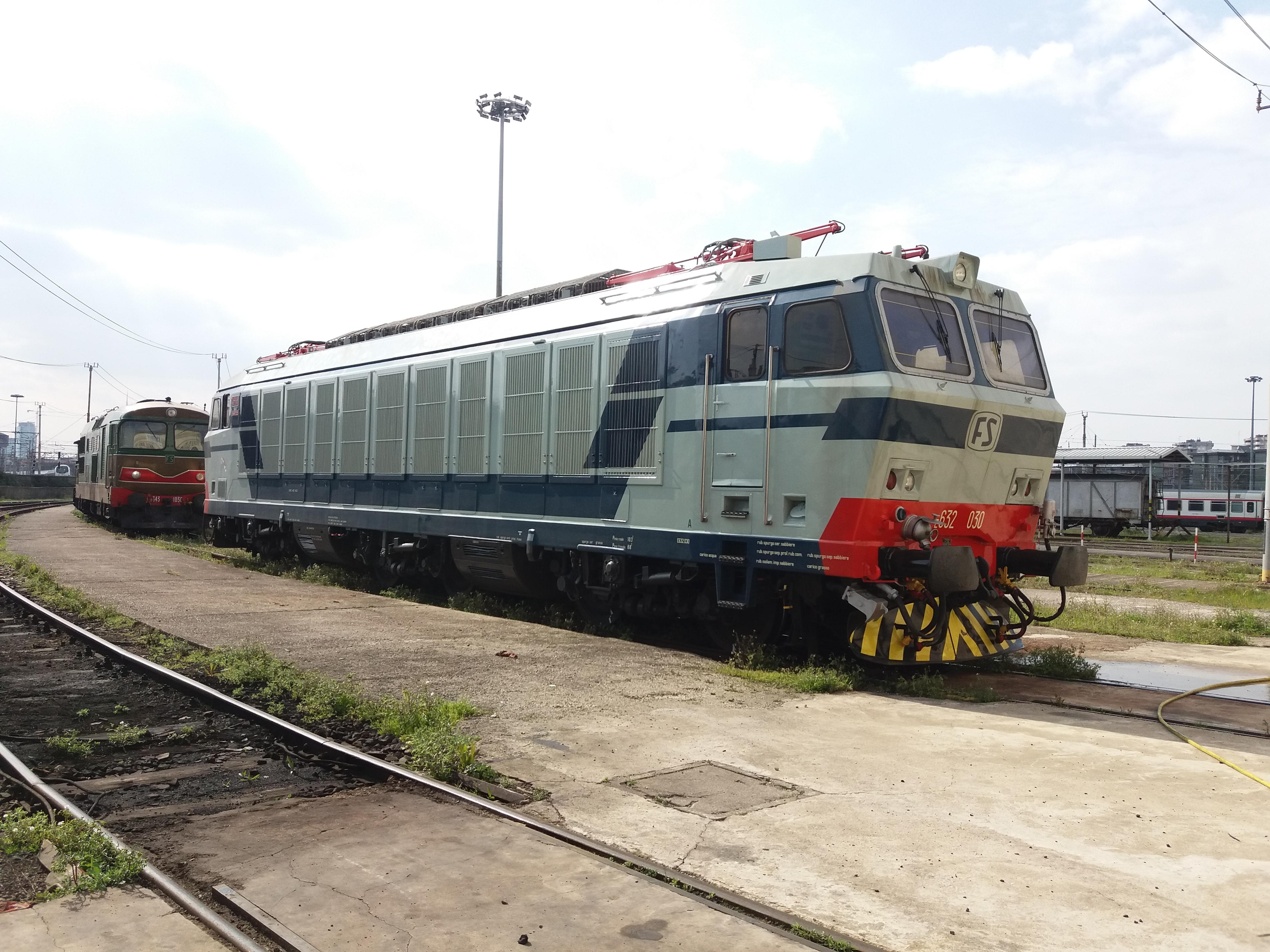 Pulizia E632 030 (Tigre)