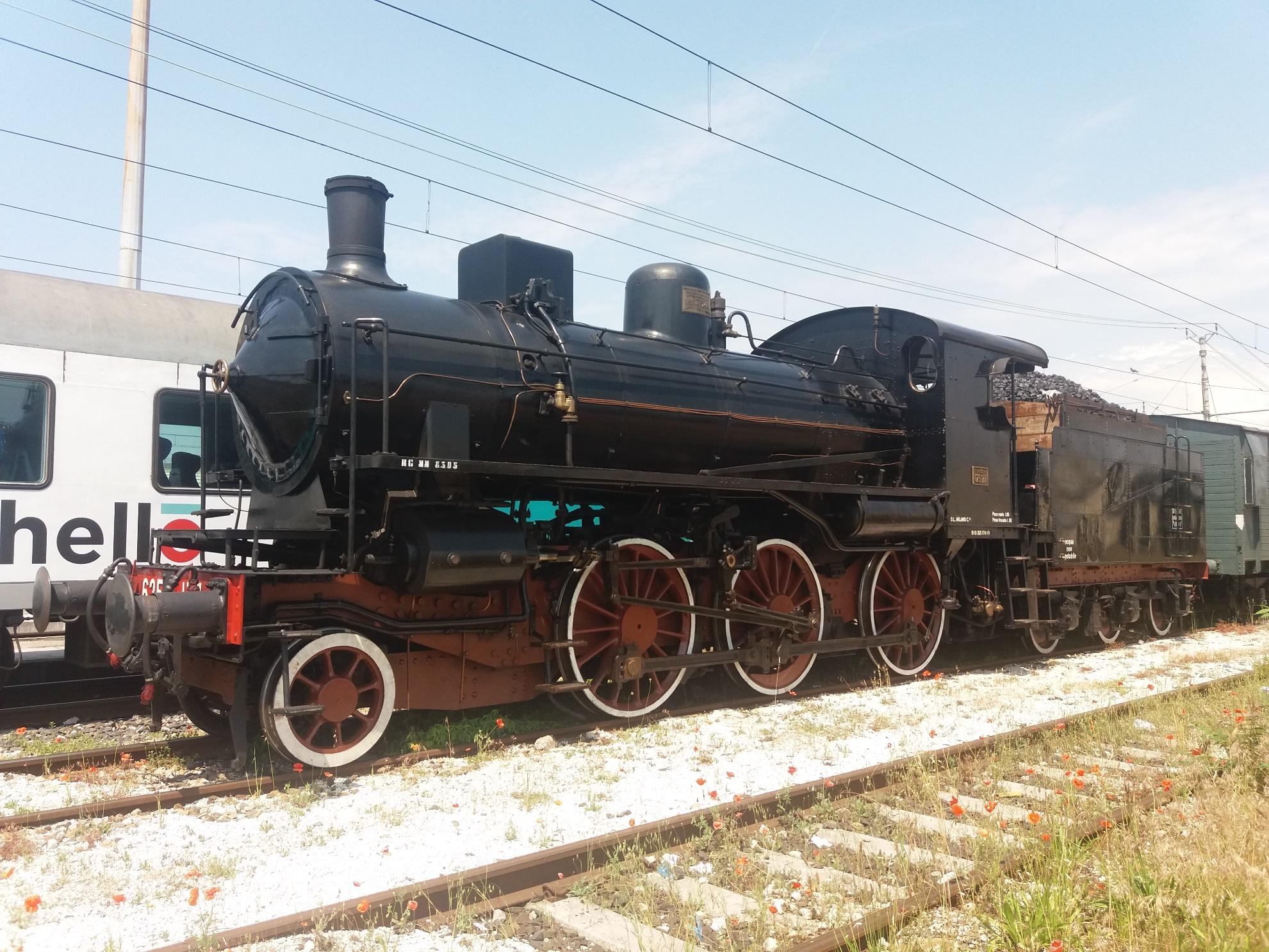 Sul treno del 13 Maggio per Paratico......