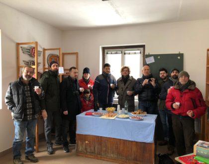 Volontari dell'Adriavapore in visita alla Storica Rimessa di Tirano